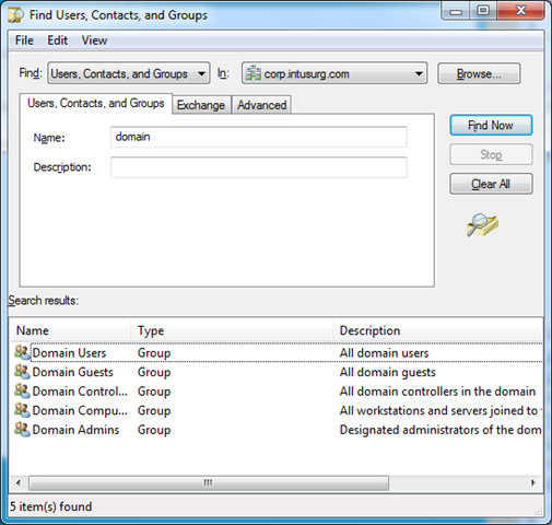 Windows 7: How to search Active Directory? – Anand, the