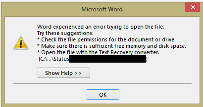 Outlook 2010/2013: Office document attachments aren't opening