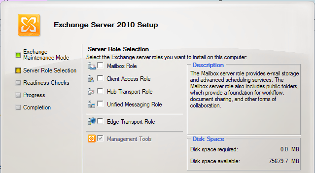 Exchange 2010: How the heck to uninstall Exchange Management