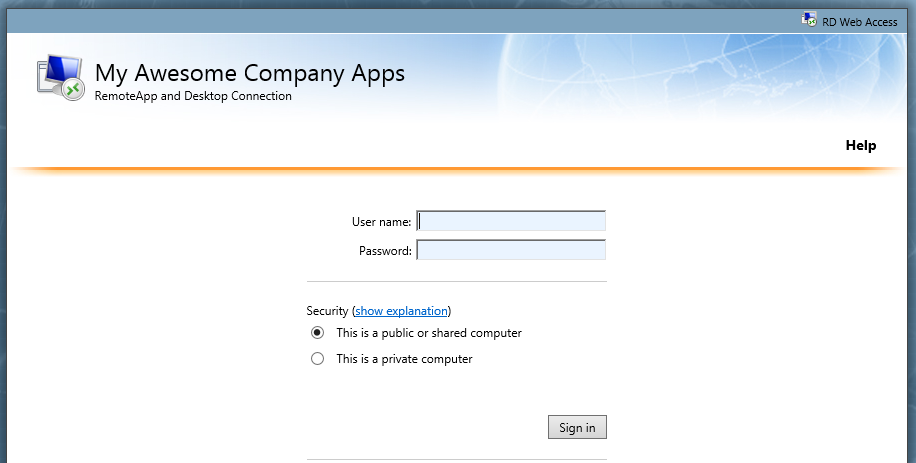 """Windows Server 2012 R2: Changing """"Work Resources"""" name in"""
