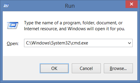 Windows 10 (8 1): built-in commands is not recognized as an