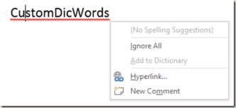 how to activate dictionary in word 2013