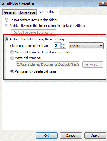 Outlook: How to delete emails after X number of days automatically? –  Anand, the Architect